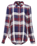 Jenny Classic Plaid Button Up